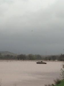 inondations du pont de cambous