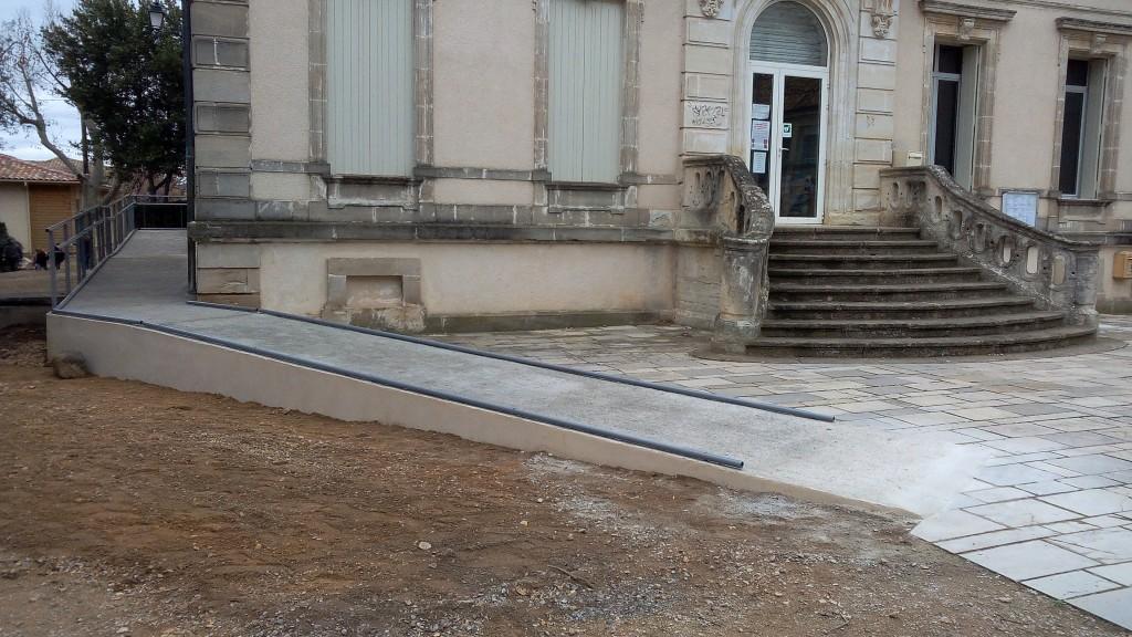 Inauguration rampe PMR Brignac (10)