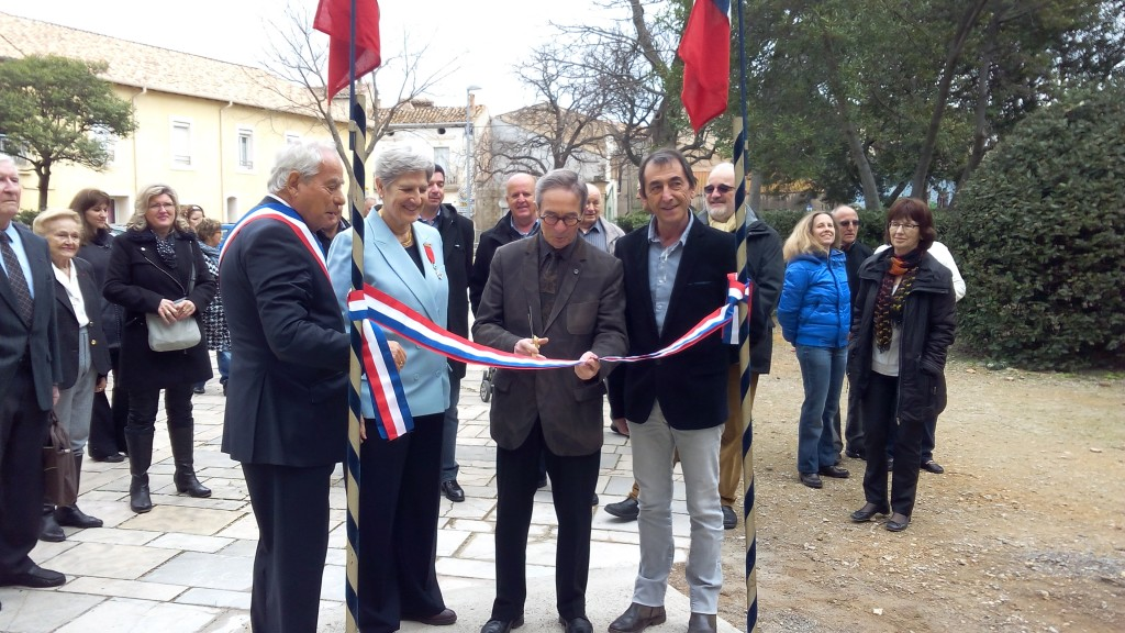 Inauguration rampe PMR Brignac (2)