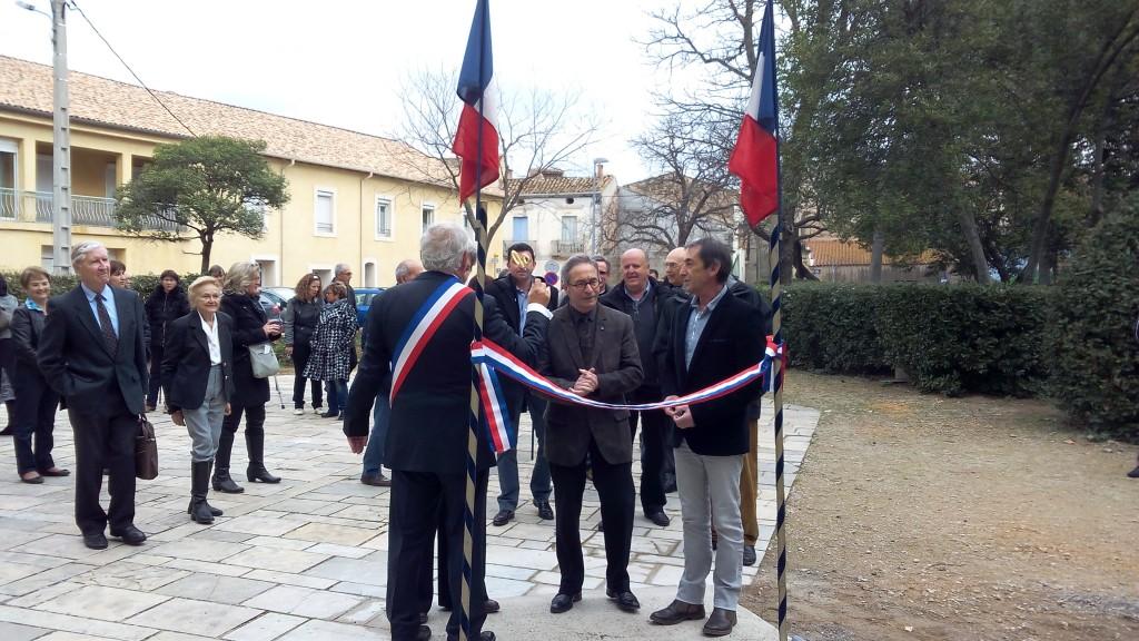 Inauguration rampe PMR Brignac (6)