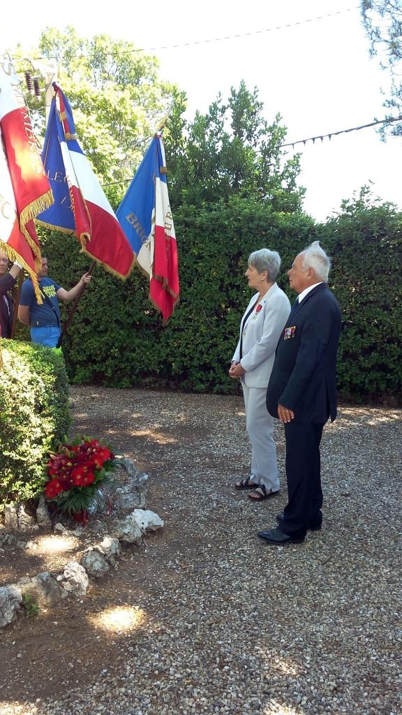 Société  des membres de la Légion d'Honneur de l'herault 18 juin 15 Brignac 2