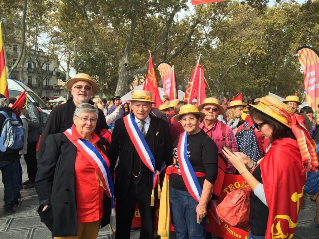 Manif occitane