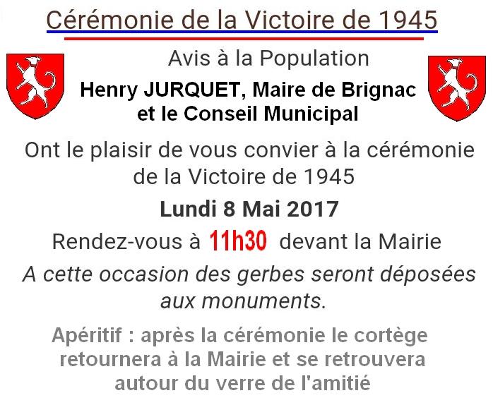8 mai commémorations Brignac 2017-1
