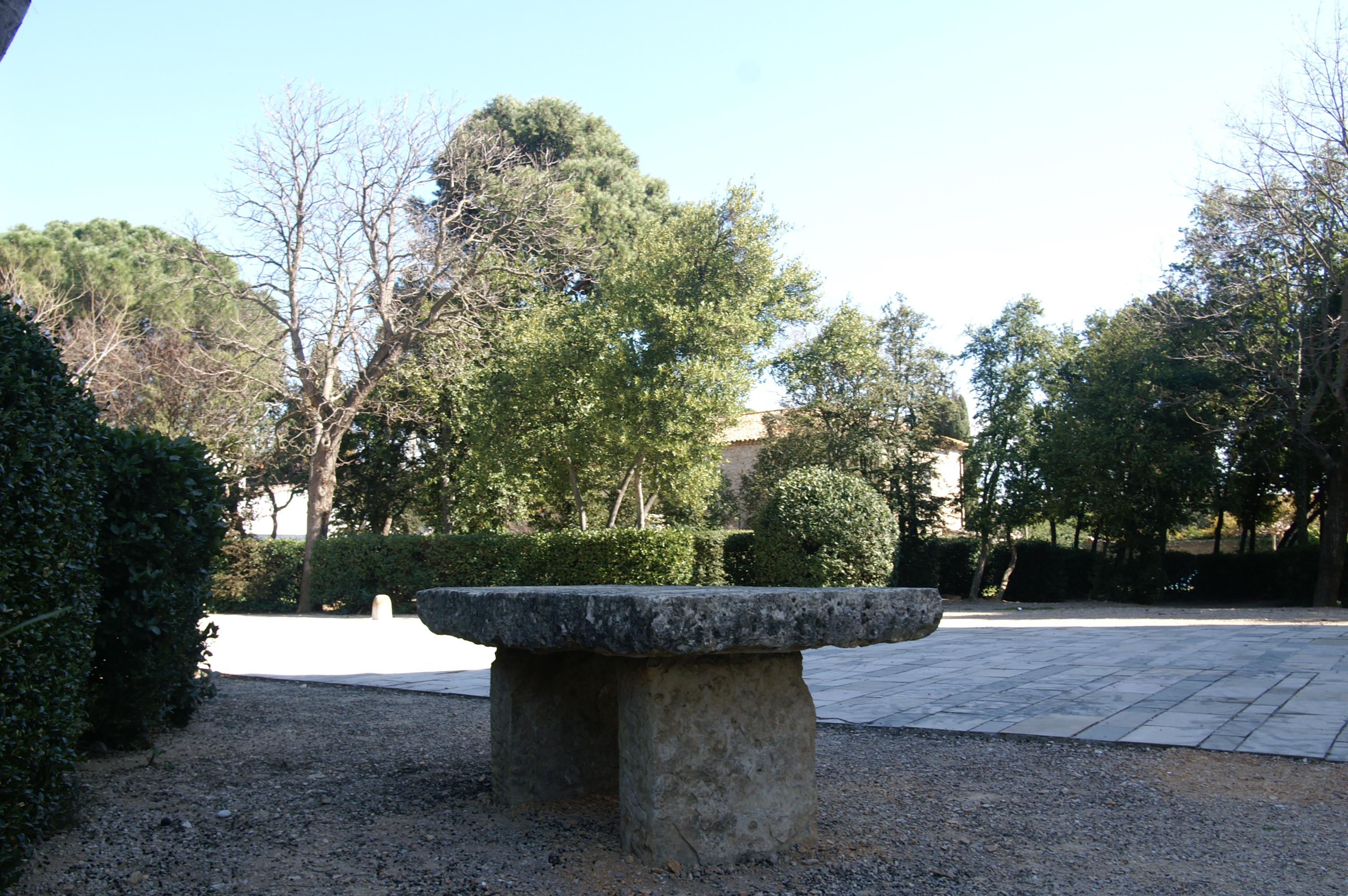 table mairie